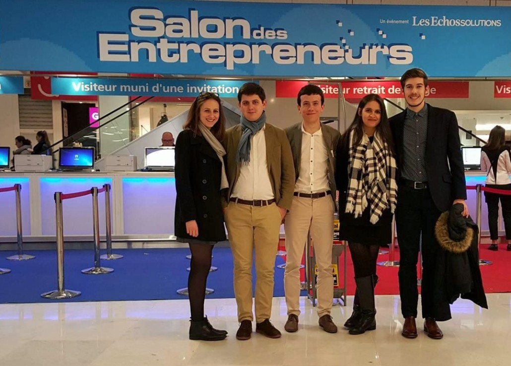 Une journ e au salon des entrepreneurs de paris bretagne for Salon des entrepreneurs paris